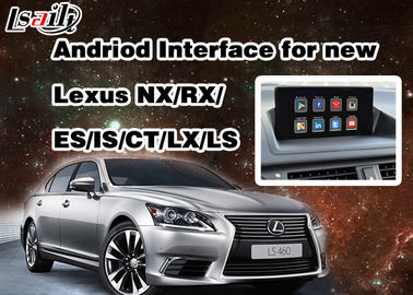Android 6.0 Lexus Video Interface for 2014 - 2017 RX / IS / ES / IS / NX / LX / LS with WIFI Network